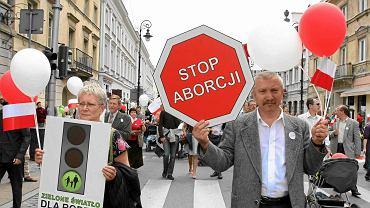 Marsz dla Życia i Rodziny. Warszawa, 30 maja 2010 r.