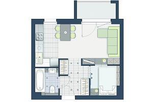 30 m kw.: Jak funkcjonalnie urządzić dwupokojowe mieszkanie?
