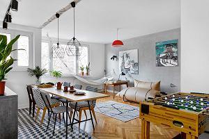 Różne style pod jednym dachem - aranżacja mieszkania