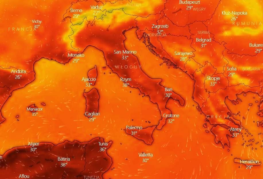 Upal we Włoszech