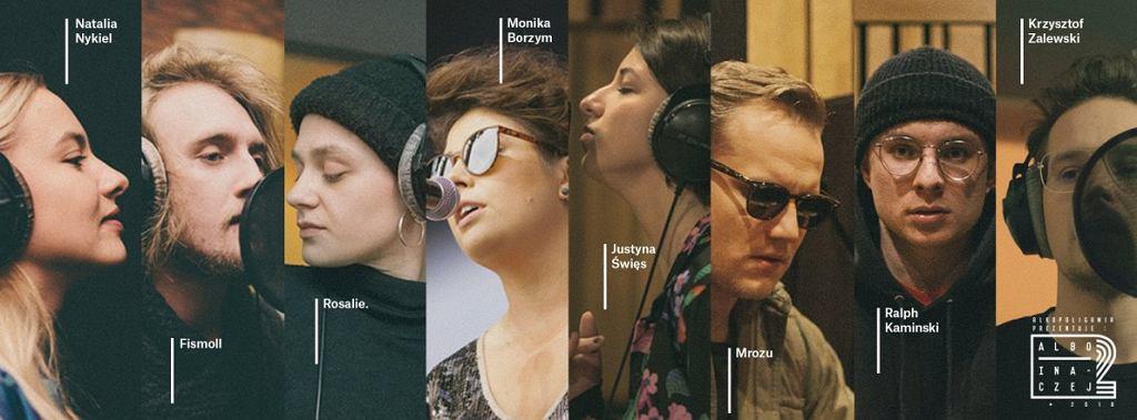 Artyści, którzy wezmą udział w projekcie 'Albo Inaczej 2' / materiały prasowe
