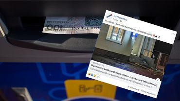 Złodzieje wysadzili bankomat w Odolanowie