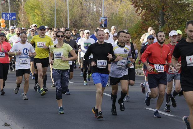 Zdjęcie numer 66 w galerii - Ponad 1200 biegaczy na starcie 37. Toruń Maraton, wygrał Łukasz Oskierko [ZDJĘCIA]