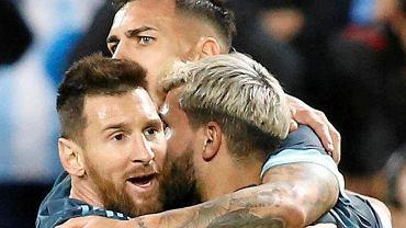 Leo Messi, Sergio Aguero i Leandro Paredes