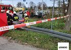 Wypadek na DK94 w Sławkowie. Dwie osoby nie żyją