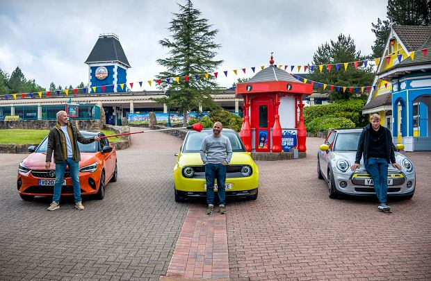 Prowadzący Top Gear: Paddy McGuinness, Chris Harris, Freddie Flintoff