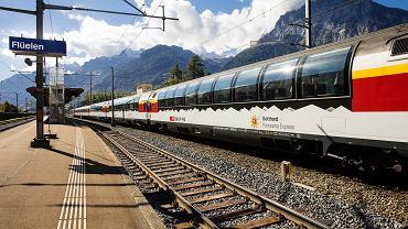 Pociąg Gotthard Panorama Express
