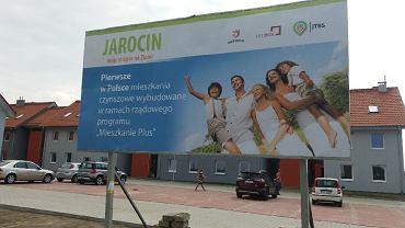 Nowe mieszkania czynszowe w Siedleminie (gmina Jarocin).