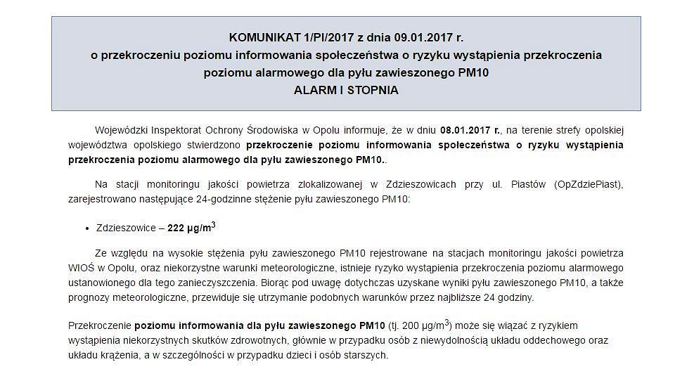 http://www.opole.pios.gov.pl/info/komunikaty.html
