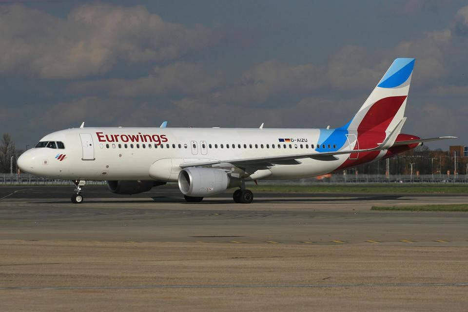 Samolot linii Eurowings bezpiecznie wylądował w Kuwejcie