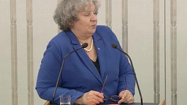 Senator Dorota Czudowska (PiS)