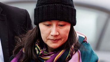 Meng Wanzhou, córka założyciela firmy Huawei.