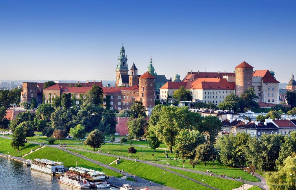 Kraków panorama