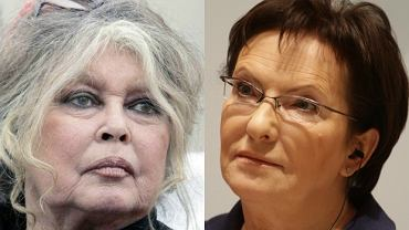 Brigitte Bardott, Ewa Kopacz