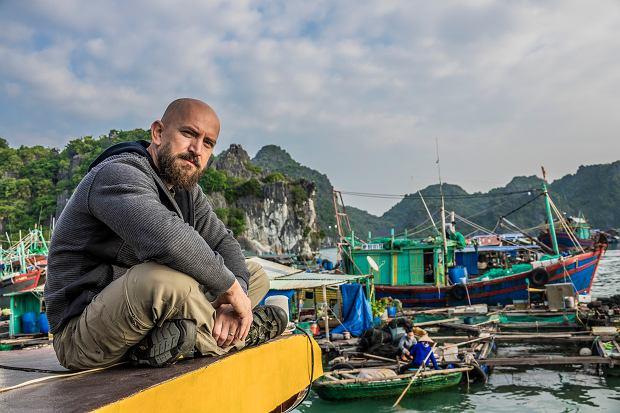 Dawida zachwyciła rzeka Mekong. Tak dla niego wygląda 'prawdziwy' Wietnam.