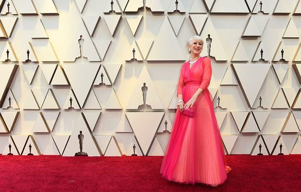 Oscary 2019. Helen Mirren na czerwonym dywanie