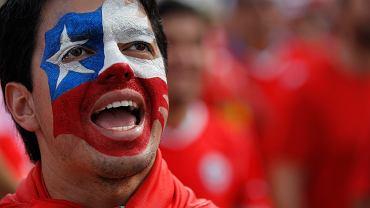 Kibic Chile na mundialu w Brazylii