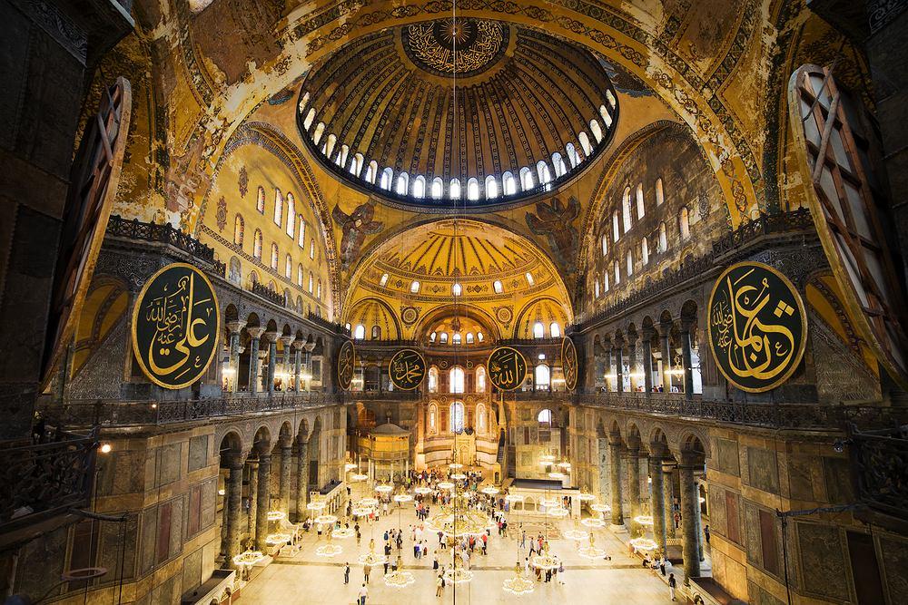Stambuł Hagia Sophia / shutterstock