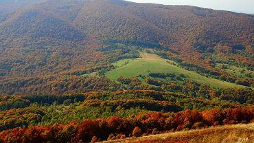 Mała i Wielka Rawka oraz częściowo wykoszone łąki na Przełęczy Wyżniańskiej