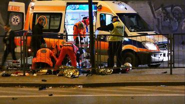 Warszawa. Śmiertelny wypadek z udziałem motocyklisty