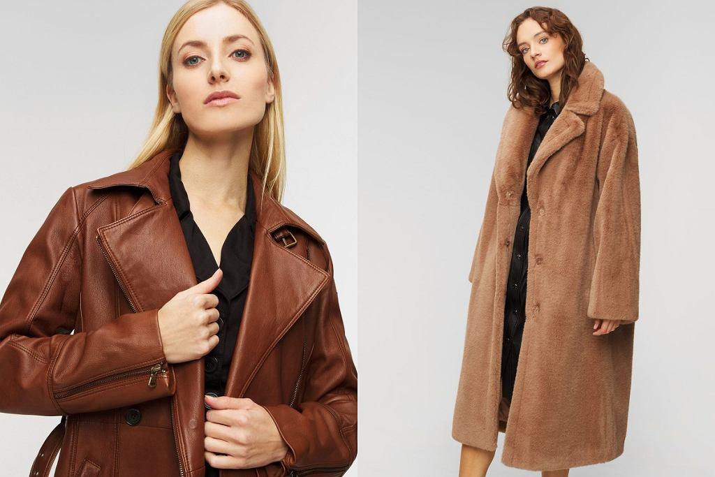 ciepłe płaszcze na zimę