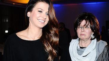 Anna Lewandowska z mamą