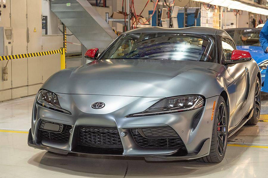 Pierwsza produkcyjna Toyota GR Supra 2019
