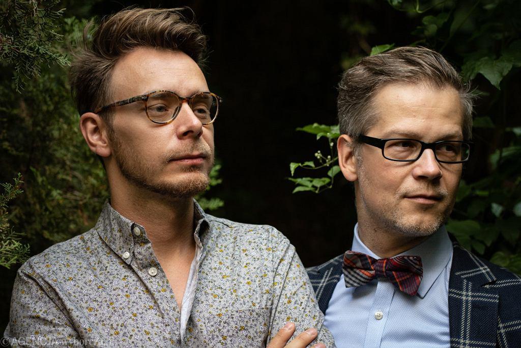 Piotr Tarczynski i Jacek Dehnel