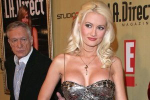 Hugh Hefner i Holly Madison