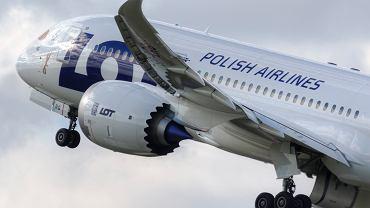 Samolot  LOT-u Dreamliner 787-8