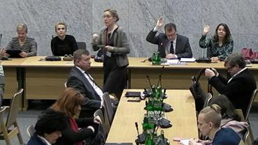 Głosowanie na Komisji Kultury i Środków Przekazu z 12 lutego
