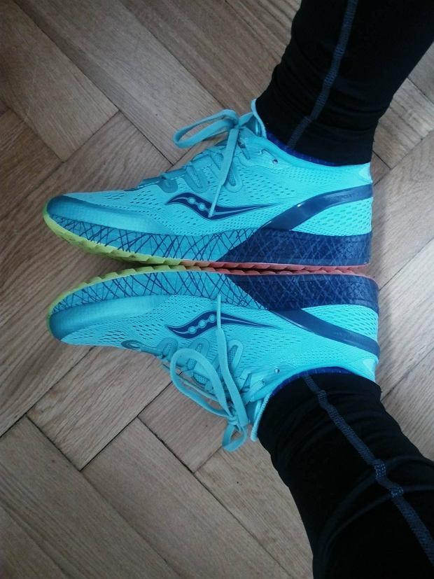test butów do biegania, saucony bieganie