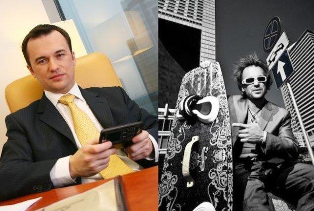 Jacek Gadzinowski z czasów pracy w korporacji (z lewej) i teraz (z prawej)