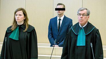 17 kwietnia 2019 r. Adam Z. w sądzie okręgowym w Poznaniu podczas ogłaszania wyroku ws. śmierci Ewy Tylman