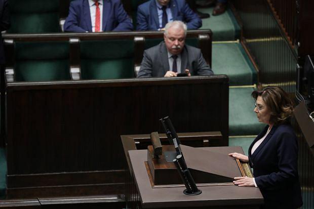 Małgorzata Kidawa-Błońska. Nadzwyczajne posiedzenie Sejmu ws. epidemii koronawirusa