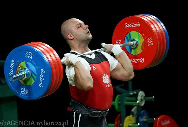 Polski sztangista dostanie srebrny medal igrzysk olimpijskich po prawie ośmiu latach! Zwycięzca zdyskwalifikowany