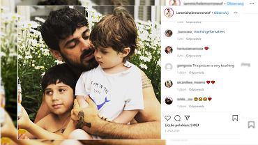 Michele Morrone przyznaje, że tęskni za synami