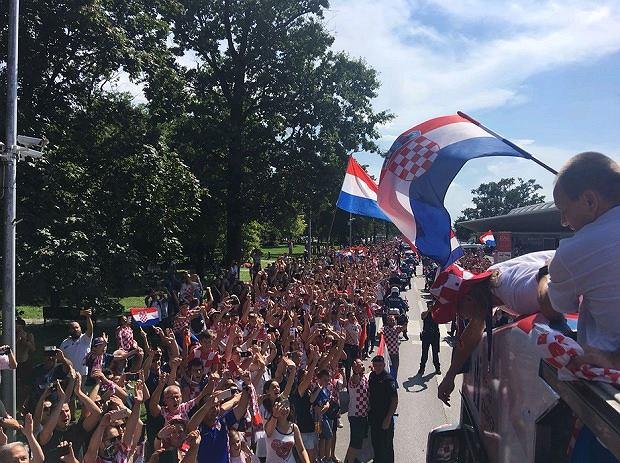 Reprezentacja Chorwacji wróciła do domu