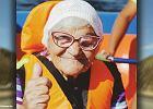 Ma 90 lat i zwiedza świat w pojedynkę. Wojciechowska jest oczarowana: Babo Leno, jestem twoją fanką! Szacun!