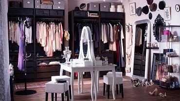 Romantyczna, biała toaletka Ikea