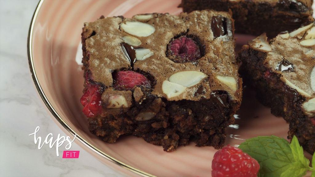 Pieczona czekoladowa owsianka FIT