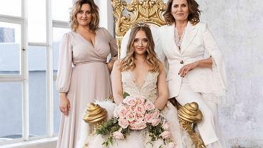 Grażyna Szapołowska z córką i wnuczką w kampanii Doroty Goldpoint
