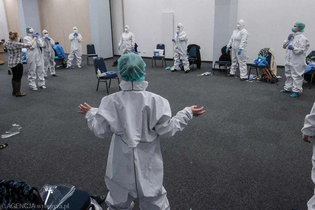Epidemia koronawirusa (ćwiczenia medyków)