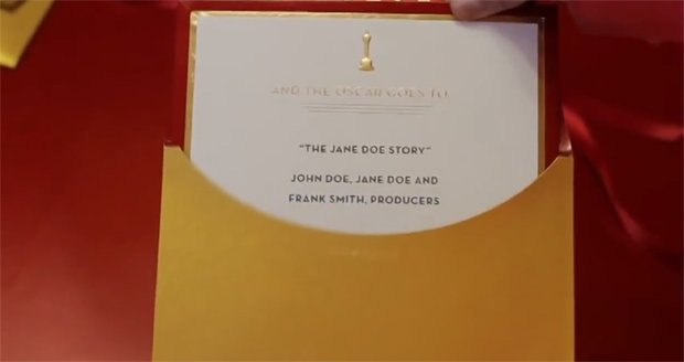Koperta na gali Oscarów