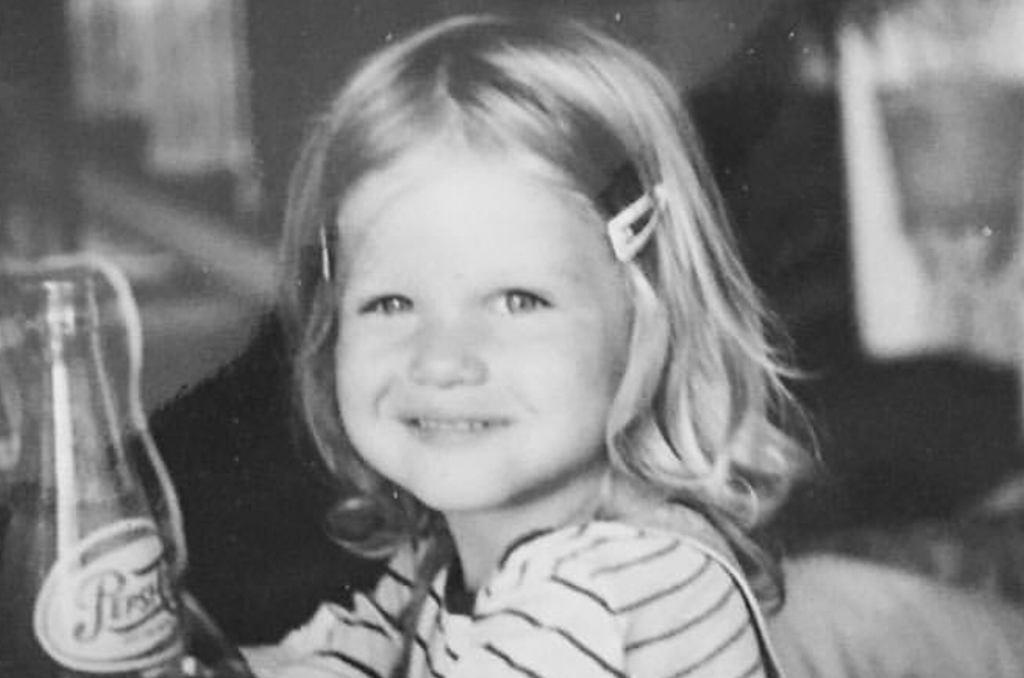 Maria Konarowska w dzieciństwie