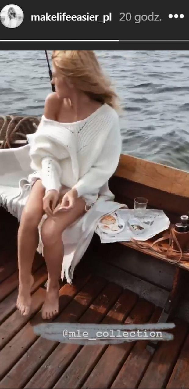 Kasia Tusk w podróży poślubnej?