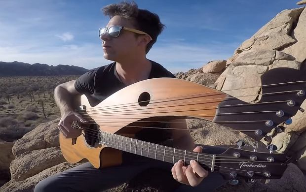 Wanted Dead Or Alive - Harp Guitar Cover - Jamie Dupuis