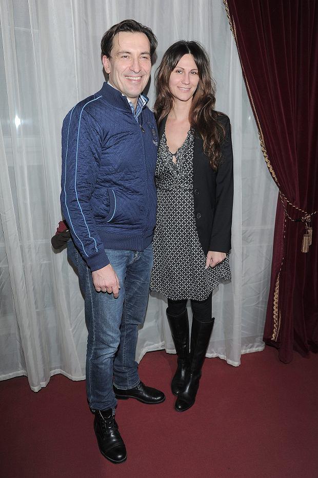 Dariusz Kordek z żoną