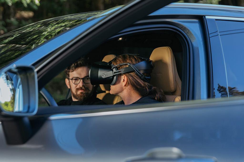 Firmy Volvo i Varjo opracowują wirtualne testy samochodów