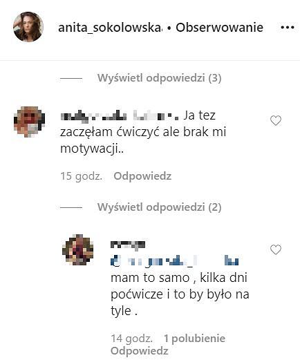 Anita Sokołowska - komentarze